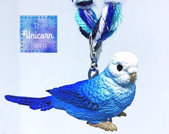 1c74def26c Blue Parakeet Necklace Beautiful Blues Pretty Bird Perfectly Adorable Budgie  Girls Kids
