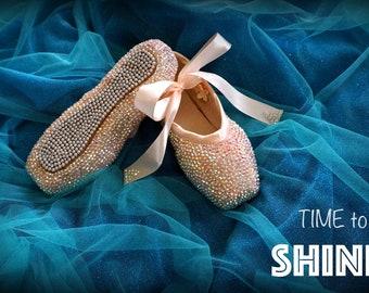 b1af6b17010f Ballet Crystal Pointe Shoes