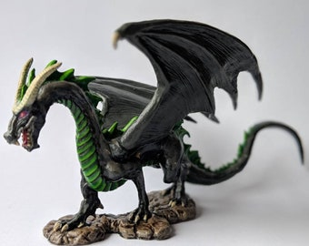 Hand Painted Tabletop Dragon Miniature