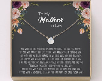 Mother In Law Necklace Gift O Moonstone Birthday Gifto Genuine Rainbow OMother Christmas F19