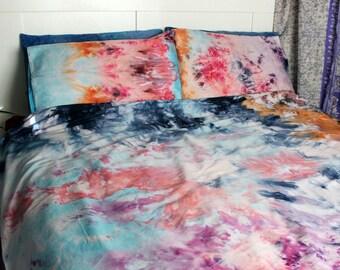 a339bdc8bcf755 Tie Dye Duvet Cover - Duvet Cover and Pillow Cases - WATERCOLOUR DREAMS