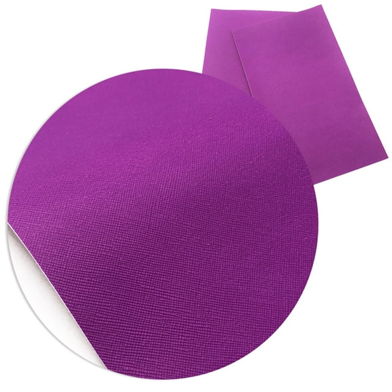 Embroidery Earings /& Bows Solid Neon Leatherette Vinyl Sheet for Sewing