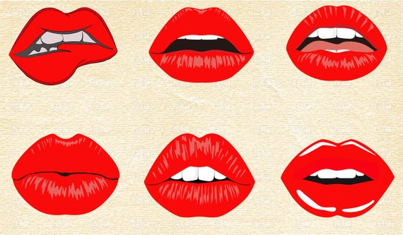 Clipart red open mouth - Clipartix