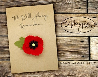 remembrance cards etsy