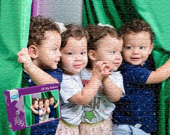 Personalized Photo Puzzle / Custom Photo Jigsaw from your own  picture