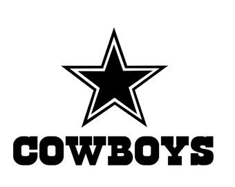Dallas Cowboy Logo svg for vinyle laser cutter 7b21347c8