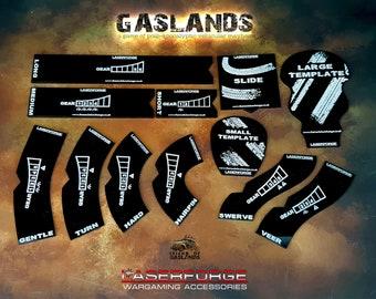Movement Templates - Designed for Gaslands