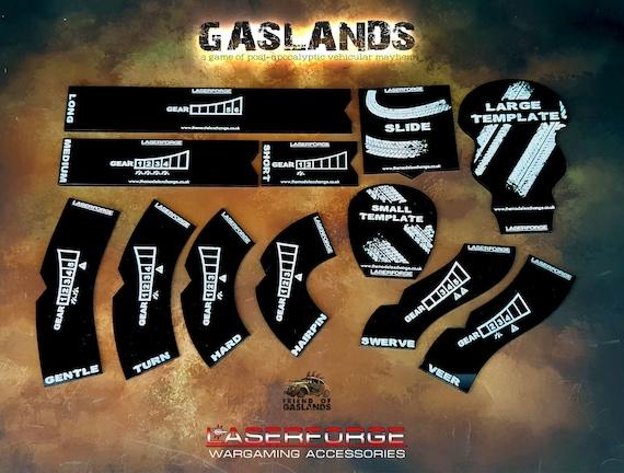 Bewegung-Vorlagen entworfen für Gaslands | Etsy
