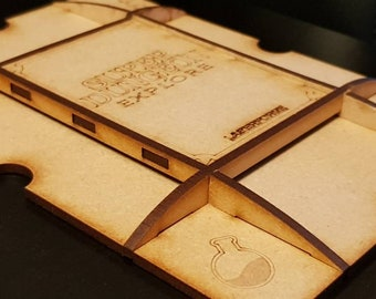 Character/Player Dashboard Organiser Pack (5) - Designed for Super Dungeon Explore