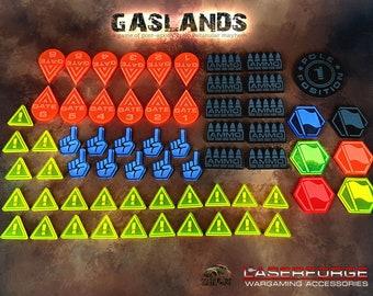 Misc. Token Set - Designed for Gaslands