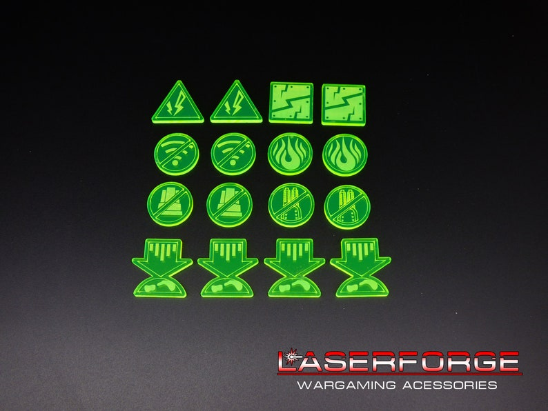 LARGE NEW FOR DROPFLEET COMMANDER - CHOICE OF 8 COLORS COMMAND BASES