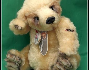 Artist Teddy bear, handmade, collectible, stuffed toy, - Paw 35 cm teddy bear
