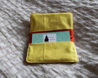 Citrus Card Wallet Lemon