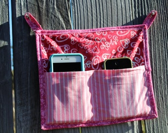 Pink Cell Phone Holder