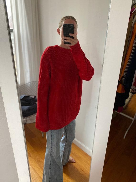 Vintage Virgin Wool Crewneck Sweater