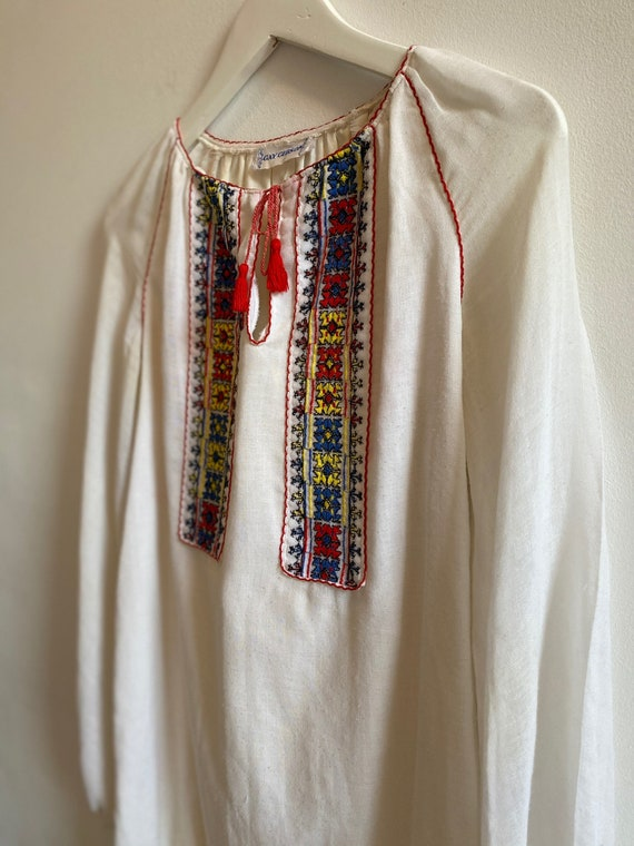 Vintage Embroidered Dress from Gay Gibson