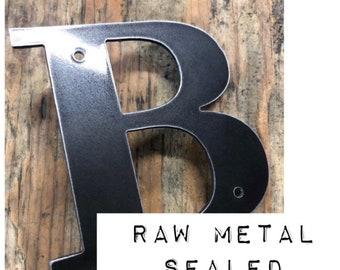 black metal letters