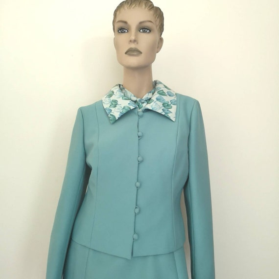 Vintage 1960s dress small, 1960s dress& jacket se… - image 6