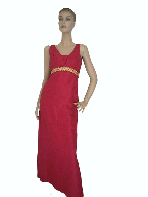 Vintage 1960s evening dress small, vintage prom dr