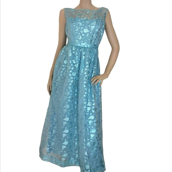 Vintage 1950s dress extra small, vintage prom dres