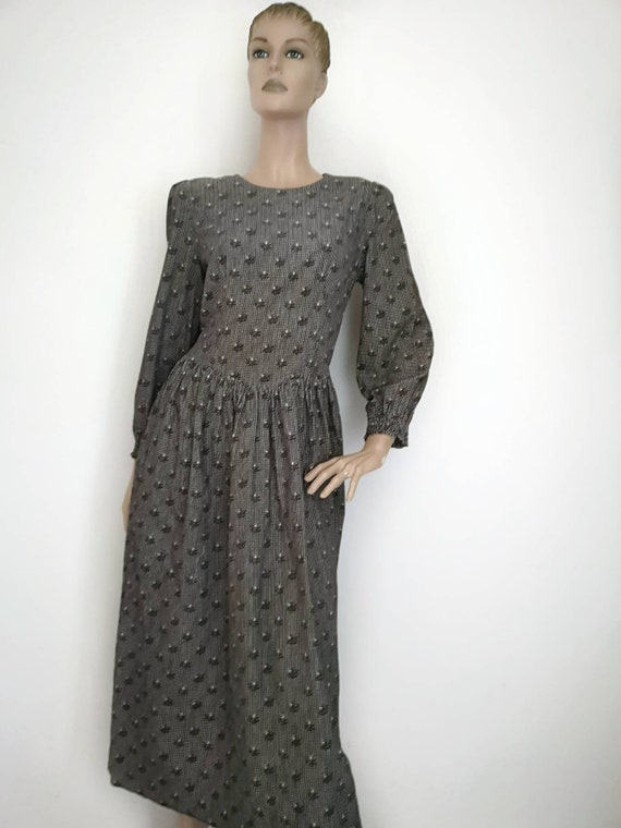 Vintage prairie dress large, vintage Japanese prai