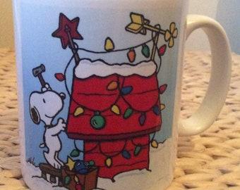 snoopys christmas mug - Snoopys Christmas