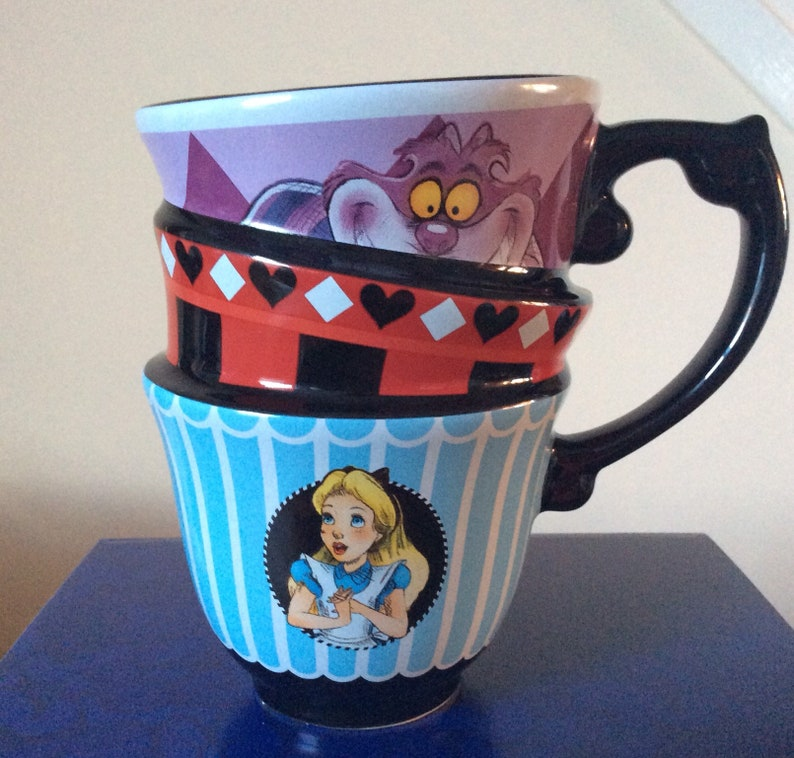 In Wonderland Style Alice Vintage Disney Mug nOvmyN80wP