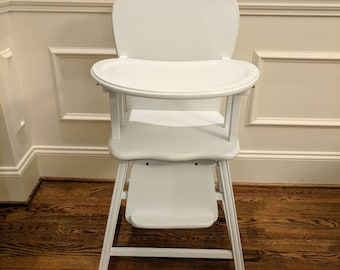 Fabulous Vintage Wooden Highchair Etsy Gmtry Best Dining Table And Chair Ideas Images Gmtryco