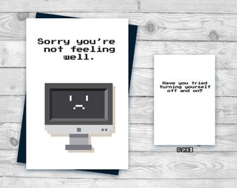 Machine Translation Its Scope and Limits Get Well Soon Greeting Card |
