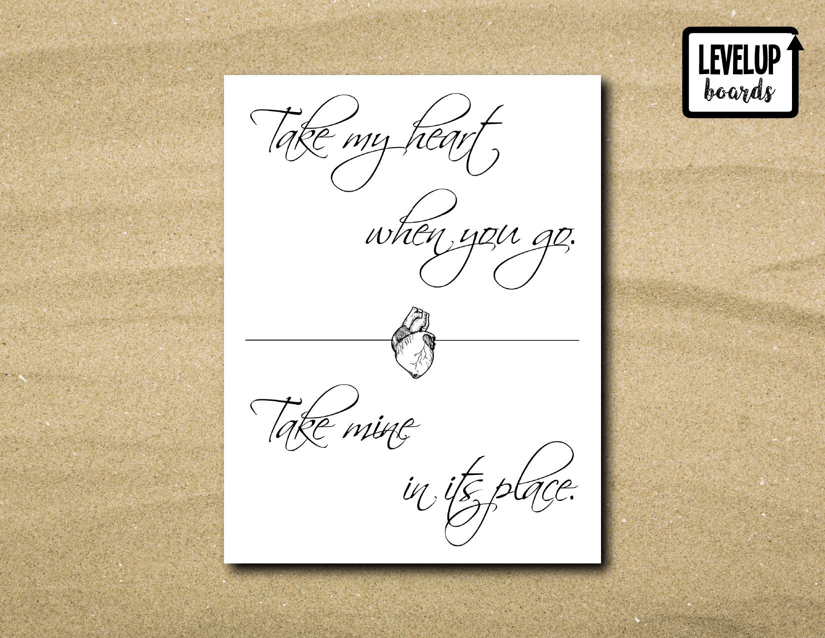 Take My Heart When You Go... Westworld TV Printable Wall Art | Etsy