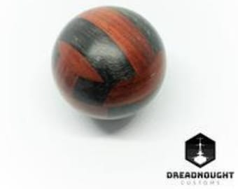 Black and Red Gear Knob