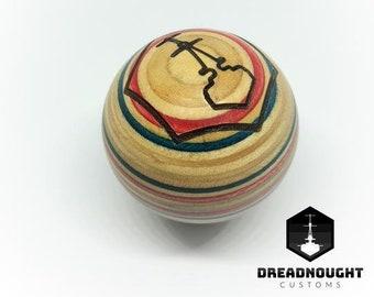 Laminated Sphere Gear Knob
