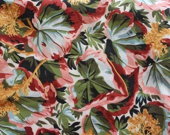 Kaffe Fassett Studios - Philip Jacobs PJ36 Variegated Ivy (Natural) Fabric for Rowan/Wesminster - OOP - By The Yard