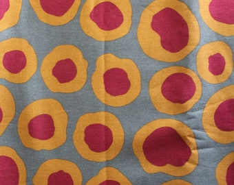 Kaffe Fassett Collective - Brandon Mably Fabric BM07 Fish Lips (Grey) - OOP - Priced by the Half Yard