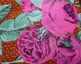Kaffe Fassett Fabric for Rowan/Wesminster - GP18 August Rose (Magenta) - OOP - Priced by the Yard