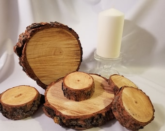 Rustic Wood Rounds
