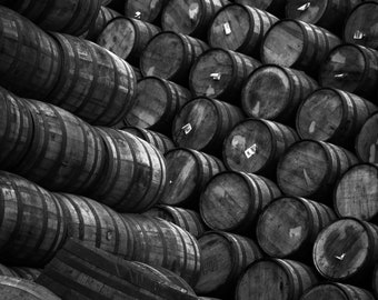 Whisky Barrels, The Cairngorms, Scotland