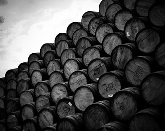 Whisky Casks 2, The Cairngorms, Scotland