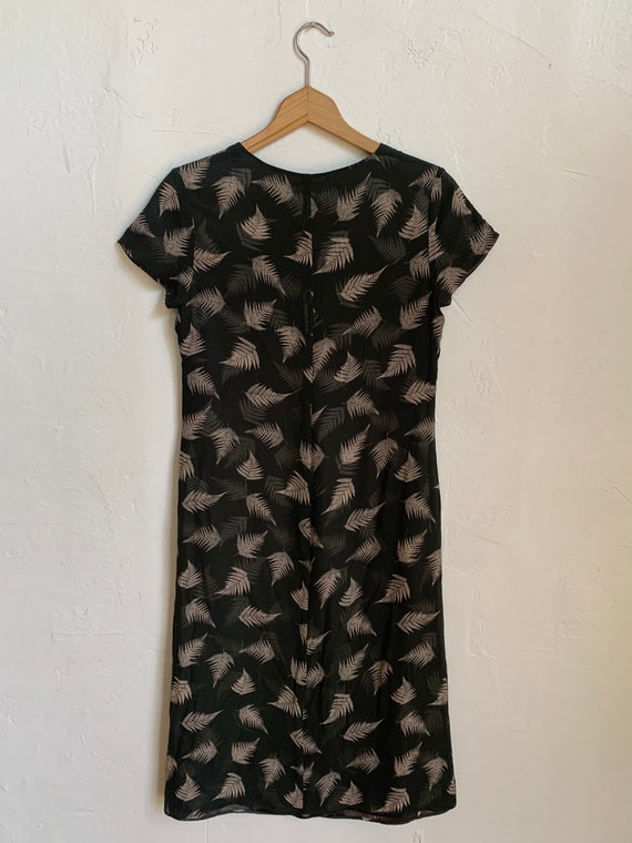 Vintage 1990s Laura Ashley Silk 100% Dress Size S… - image 2
