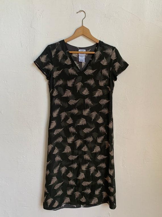 Vintage 1990s Laura Ashley Silk 100% Dress Size S… - image 1