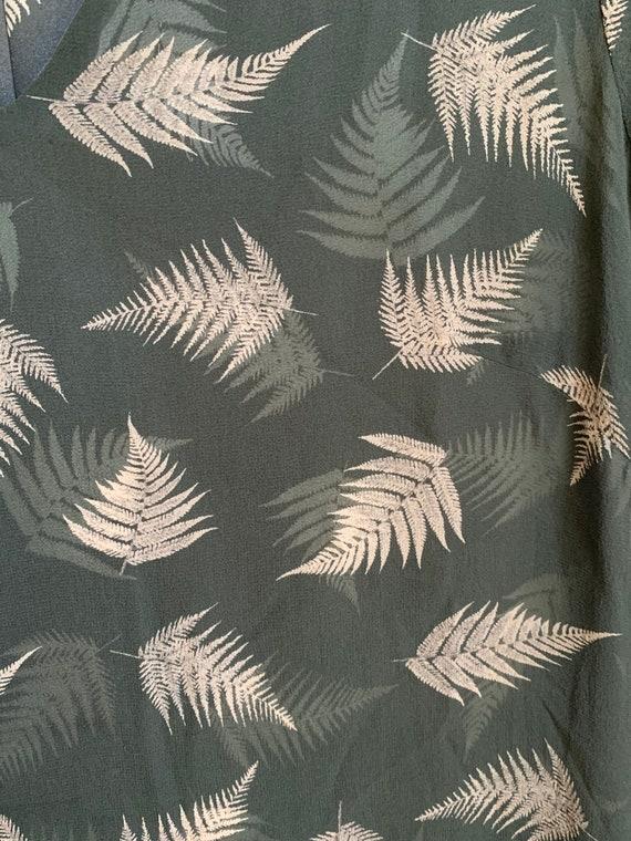 Vintage 1990s Laura Ashley Silk 100% Dress Size S… - image 4