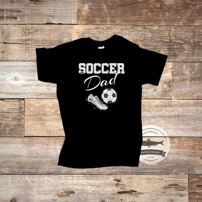 06744e86 Soccer Dad T Shirt Soccer Coach Tee Gift for Dad Soccer | Etsy