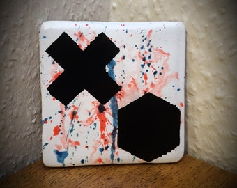 Noughts and Crosses Coaster