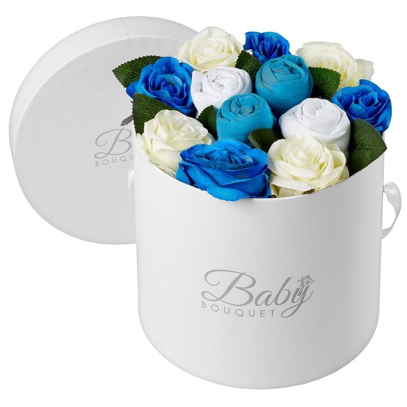 Buckingham Baby Bouquet Blue