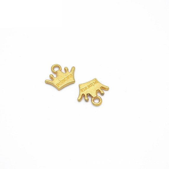 40pcs 15x13mm Antique SilverAntique BronzeGoldSilver Crown Pendant Charms,Crown Necklace,Lovely DIY Supplies,Jewelry Making Findings,N206