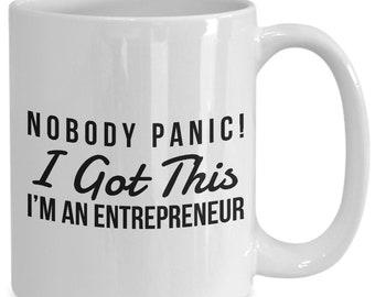 Funny Entrepreneur Gift For Humor Mug Meme