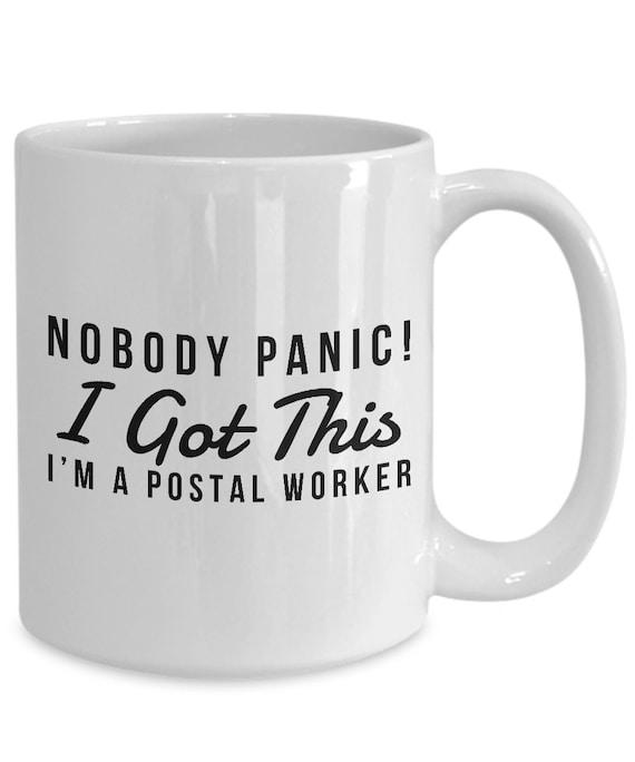 Funny Postal Worker Gift Gift For Postal Worker Humor Mug Etsy