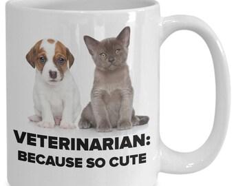 Veterinarian coffee mug gift idea