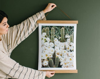Picture Hanger Frame - Magnetic Wood 12 Sizes!