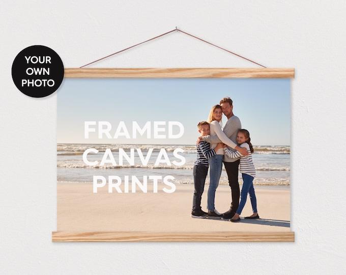 Framed Canvas Prints - We Print Your Photo Pix ART